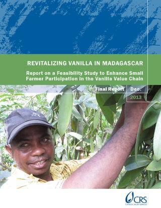 Revitalizing Vanilla in Madagascar (CRS, 2014)